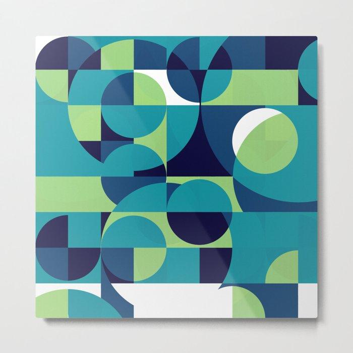 RainyDay Pattern Metal Print