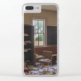 School, Arena, North Dakota 8 Clear iPhone Case
