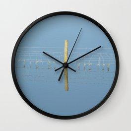 reflected Wall Clock
