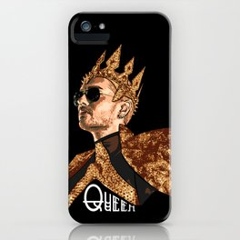 Queen Bill - White Text iPhone Case