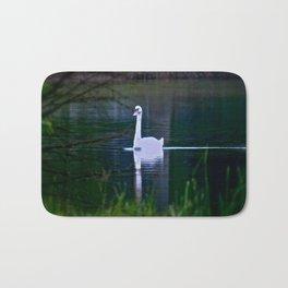 Swan Ghost Bath Mat