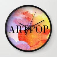 artpop Wall Clocks featuring ARTPOP  by IngCK