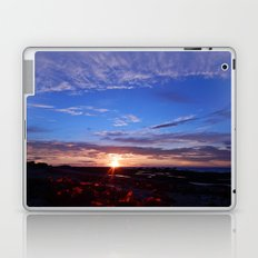 Sunset and Blue Sky Laptop & iPad Skin