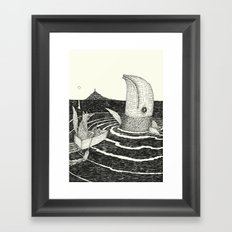 'Follow Me' Framed Art Print