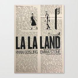 La La Land 1 Canvas Print