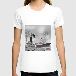 A dark picture T-shirt