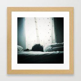 in your trust, I grow... Framed Art Print