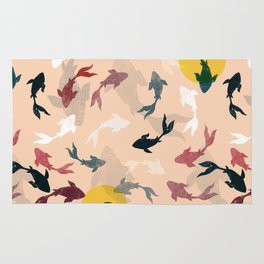 Japanese fishes Rug