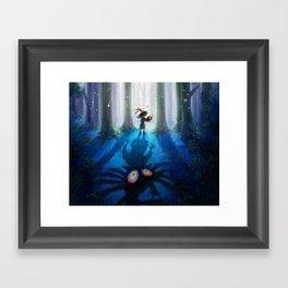 Forest Majora Framed Art Print