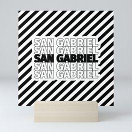 San Gabriel USA CITY Funny Gifts Mini Art Print