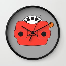 View-Master Wall Clock