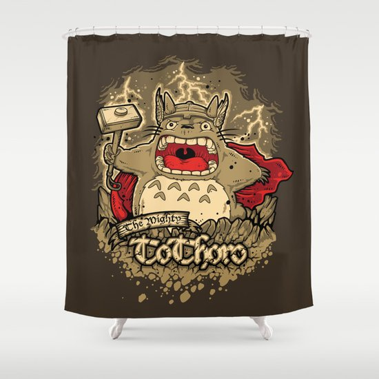 THE MIGHTY TO-THOR-O Shower Curtain