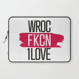 #aFKCNoriginal Poland Wroc1love // Wroczlaw Laptop Sleeve