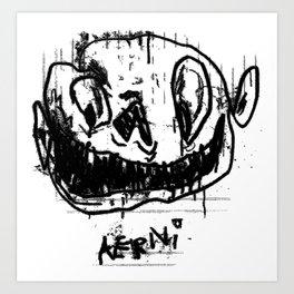Im Insane Art Print