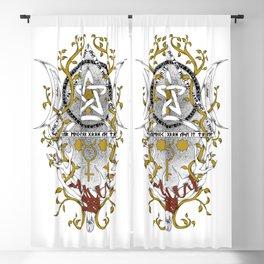Triple Moon Goddess Blackout Curtain