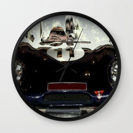 "1956 Lotus ""Eleven"" Racing Car Wall Clock"