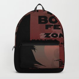 Boba fett vs zombies Backpack