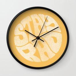 Stay Rad Wall Clock