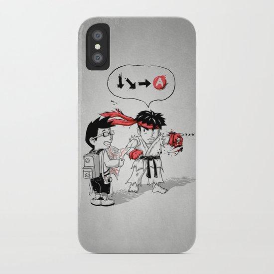 Hadoken? iPhone Case