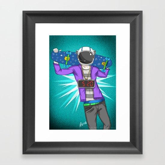 Astr0 Framed Art Print