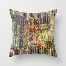 The Relative Frequency of the Causes of Breakage of Plate Glass Windows (1) Throw Pillow