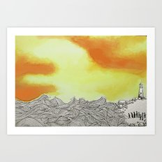 March to the Sea Art Print