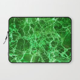 Emerald Green Marble Laptop Sleeve