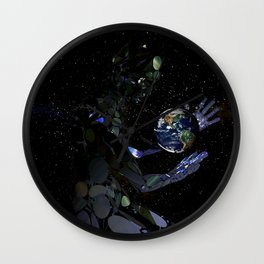 Outta This World II Wall Clock