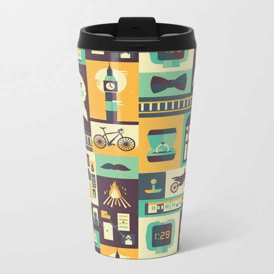 Empty Hearse Metal Travel Mug