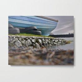 Lough Corrib, Galway, Ireland Metal Print