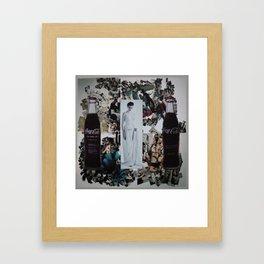 Grès Framed Art Print