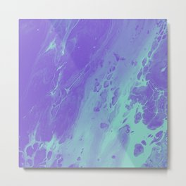 Tint - Abstract Marble Texture Series: 01 Metal Print