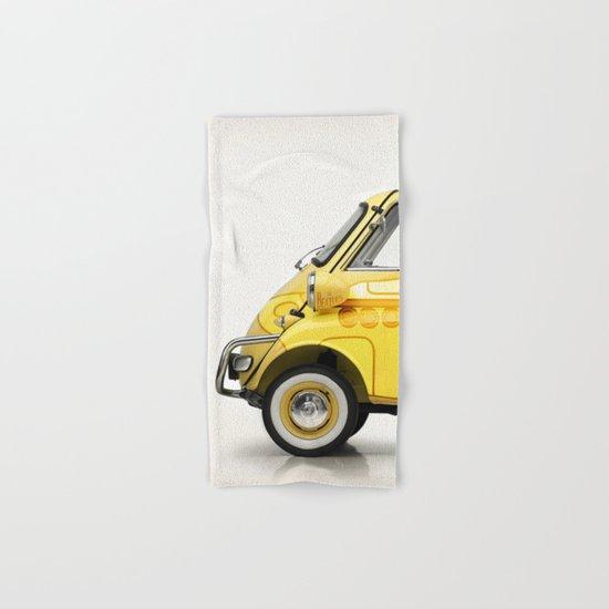 Yellow Submaretta Hand & Bath Towel