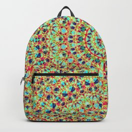 Twenty Four Hours Abstract Quasicrystal Backpack