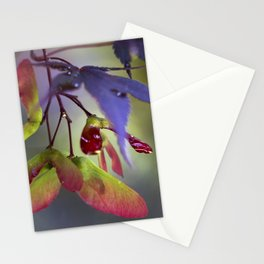 Japanese Maple Seeds Stationery Cards