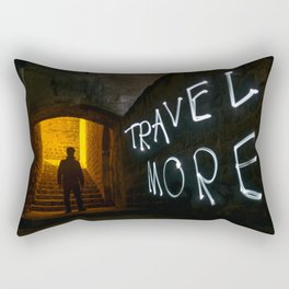Travel More Rectangular Pillow