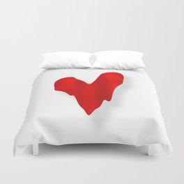 Melting Heart Duvet Cover