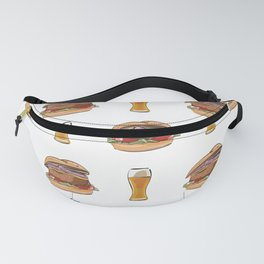 Burgers and Beer Fanny Pack