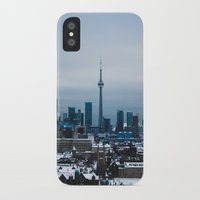 toronto iPhone & iPod Cases featuring Toronto by houseofdawn