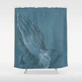 Albrecht Durer - Praying Hans Shower Curtain