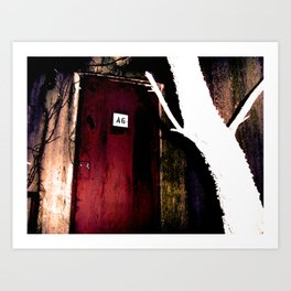 the uninvited II Art Print