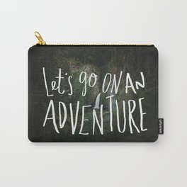 Let's Go on an Adventure Carry-All Pouch