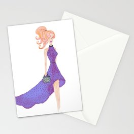 Fashion DIVA - watercolor Stationery Cards