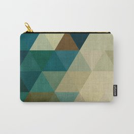 Harmonic colored pattern Carry-All Pouch