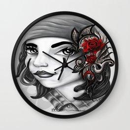 Gypsy lady design Wall Clock