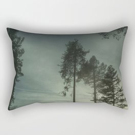 Secret in the Fog Rectangular Pillow