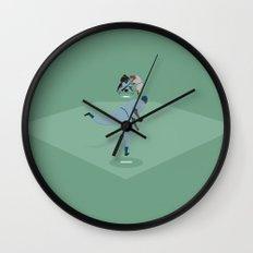 Casey at the Bat Wall Clock