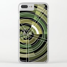Exploded view camouflage Clear iPhone Case