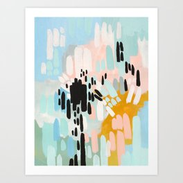 Collisions Art Print