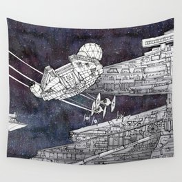 Millenium Falcon Wall Tapestry